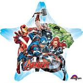 "Avengers 29"" Star Balloon (1)"