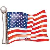 American Flag 27 Shape Foil Balloon (1)