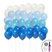 Ombre Balloon Kit (Blue & White)