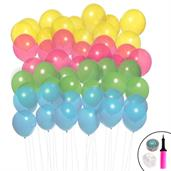 Ombre Balloon Kit (Aqua, Lime, Hot Pink & Yellow)