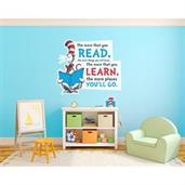 Dr. Seuss Cat in the Hat Inspirational Quote Giant