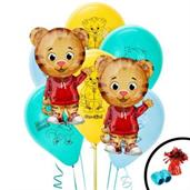 Daniel Tigers Colorful Party Balloons, Numbered Balloons and Balloon Bouquets