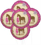 Western Cowgirl Party 5pc Foil Balloon Kit 18""