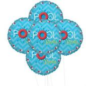 Splashin Pool Party 5pc Foil Balloon Kit 18""