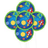 Rocket to Space 5pc Foil Balloon Kit 18""
