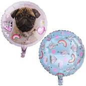 Rachael Hale Dog Love Foil Balloon