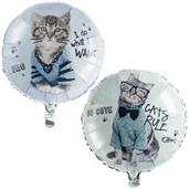 Rachael Hale Cats Rule Foil Balloon