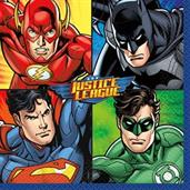 Justice League Luncheon Napkins (16 Count)