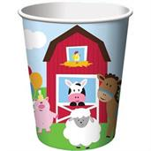Farm Animal Cups & Glasses