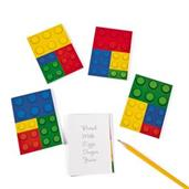 Color Brick Party Notepads (24)