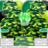 Army Party 8 Guest Party Pack