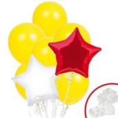 Red & Yellow Balloon Bouquet