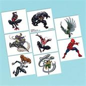 Spiderman Tattoo Sheet (1)