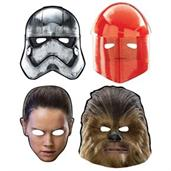 Star Wars Episode VIII: The Last Jedi Paper Masks (8)