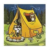 Camp Adventure Beverage Napkins(16)