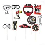 Racecar Photo Stick Props(12)