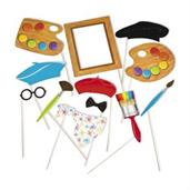 Little Artist Photo Stick Props(12)