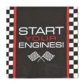 Racecar Checker Lunch Napkin (16)