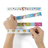 Unicorn Slap Bracelets(12)