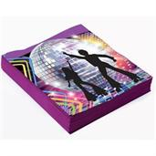 Disco Party Decor Lunch Napkins(16)