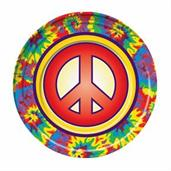 Hippie Decor Dinner Plate (8)