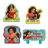 Elena Of Avalor Birthday Candle Set(4)