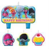 Trolls Candle Set(4)