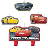 Disney Cars 3 Birthday Candle Set(4)