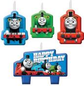 Thomas the Train All Abaord Birthday Candle Set(4)