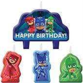 PJ Masks Birthday Candle Set(4)