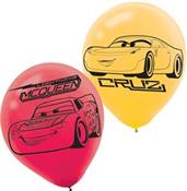 Disney Cars 3 Latex Balloons(6)