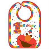 Elmo Turns One Vinyl Bib(1)