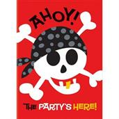 Pirate Fun Invites(8)