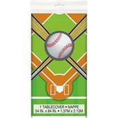 Baseball Plastic Tablecover