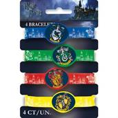 Harry Potter Rubber Bracelets(4)