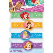 Disney Princess Dream Rubber Bracelets(4)