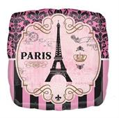"Day In Paris Jumbo Foil Balloon (28"")"