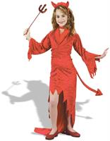 Devil Velvet Child Costume