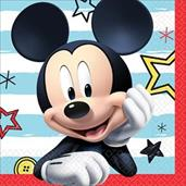Mickey On The Go Beverage Napkins (16)
