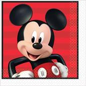 Mickey On The Go Lunch Napkins (16)