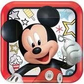 Mickey Mouse & Minnie Mouse Plates