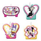 Minnie Mouse Helpers Candles
