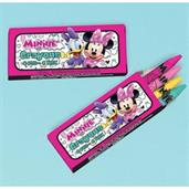 Minnie Mouse Helpers Crayons (12 pack)