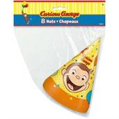 Curious George Party Hats (8)