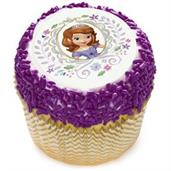 "Sofia the First 2"" Edible Cupcake Topper (12 Images)"