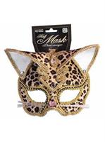 Deluxe Leopard Mask