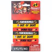 INCREDIBLES 2 Rubber Bracelets