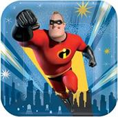 The Incredibles Plates