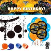 Monster Jam Room Decor Kit