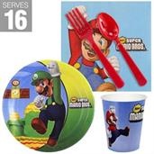 Super Mario Brother Party Supplies and Decorations